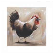 PROVINCIAL ROOSTER Blockmount Canvas 60x60cm Kelly Lane PROVINCIAL  ROOSTER Canvas BlockmountCanvas Blockmount is a timber board with a stretched canvas mounted on topMeasur. Please Click the image for more information.