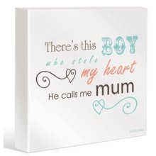 BABY BOY Canvas Kelly Lane BABY BOY CanvasCanvas is stretched onto a timber frame which is ready to hang on your wallMeasurements 40cm x 40cm Please Click the image for more information.