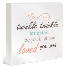 BABY LITTLE STAR Canvas Kelly Lane BABY LITTLE STAR CanvasCanvas is stretched onto a timber frame which is ready to hang on your wallMeasurements 40cm x 40cm Please Click the image for more information.
