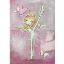 Splosh DANCE - PINK Canvas  Splosh DANCE  PINK Canvas Canvas is stretched onto a timber frame which is ready to hang on your wallMeasurements 47cm x 70cm Please Click the image for more information.