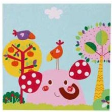 Canvas - KIDS Animals Canvas  KIDS AnimalsFun bright colours to brighten up your childs roomCanvas is stretched onto a timber frame which is ready to hang on your wall Measureme. Please Click the image for more information.
