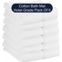 Hotel Grade Bath Mat - Pack of 6 - White Hotel Grade Bath Mat  Pack of 6  White    Size of Bathmat 51 x 69cm    250 gm each Handy Wash    100  . Please Click the image for more information.