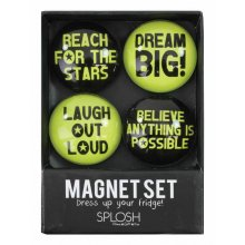 SPLOSH Set of 4 MAGNETS-LIMES SPLOSH Set of 4 MAGNETSLIMES Please Click the image for more information.