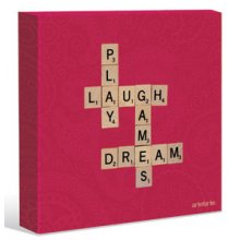 Kelly Lane SCRABBLE - PLAY 40X40 Canvas. Kelly Lane SCRABBLE  PLAY 40X40 CanvasCanvas is stretched onto a timber frame which is ready to hang on your wall Measu. Please Click the image for more information.