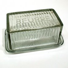 Buerre - butter keeper Farmhouse style butter dish with lid  styled on a 50s style French Provincial classic Please Click the image for more information.