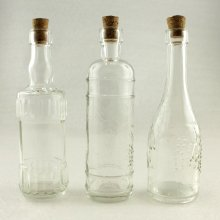 Bottle Assortment This assortment of 4 not 3   lovely bottles can be used for single stems or decoration  They are complete with natural cork stopperNB S. Please Click the image for more information.