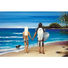 The Cove COUPLE 90 x 120cm Canvas 90 x 120cm Canvas Please Click the image for more information.