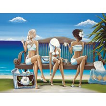 The Cove BEACH GLAM 90 x 120cm Canvas 90 x 120cm Canvas Please Click the image for more information.