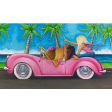 CRUSIN - GIRLS  90CM X 52CM CRUSIN  GIRLSCanvas is stretched onto a timber frame which is ready to hang on your wall Measurements 90cm x 52cmCanvases can completely change the look of a room Please Click the image for more information.