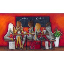 CAFE - GIRLS  60CM X 35CM CAFE  GIRLS  60CM X 35CM Please Click the image for more information.