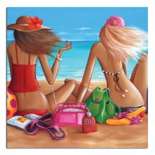 Girlfriends 70x70cm Canvas Girlfriends 70x70cm Canvas Please Click the image for more information.