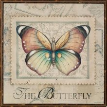 Wood - WALL PLAQUE SQ BUTTERFLY Stunning ArtworkVery popular butterfly Please Click the image for more information.
