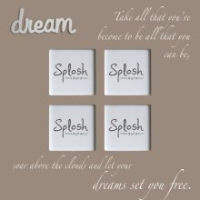 Dream Large Beige Frame Photo  sizes 9cm x 9cm x 4Frame size 40cm x 40cm Please Click the image for more information.