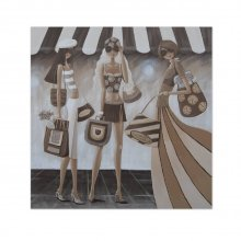 Sister Act Shopping 70x70cm Canvas Sister Act Shopping 70x70cm Canvas Please Click the image for more information.