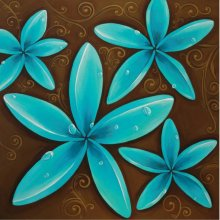 Moorish Franigpani 40x40cm canvas Moorish Franigpani 40x40cm canvas Please Click the image for more information.
