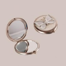 Butterfly Reflection Compact Mirror Gorgeous compact mirror which has been decorated with a Mirror Butterfly which is complimented with silver bling. Please Click the image for more information.