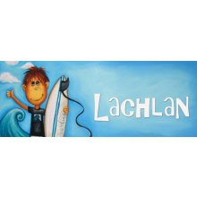 SURF Door Plaque  - LACHLAN Measurements 93cm wide 46cm high  Please Click the image for more information.