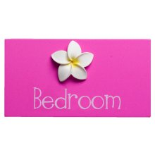 Original BEDROOM Pink LAUNDRY Door Plaquemeasurment 15cm x 8cm Please Click the image for more information.