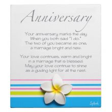 Original Poem - ANNIVERSARY Measurements 10cm wide 13cm high Please Click the image for more information.