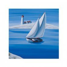 Driftaway Sail 40x40cm Canvas Canvas is stretched onto a timber frame which is ready to hang on your wallMeasurements 40cm x 40cm Please Click the image for more information.