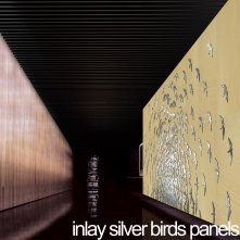 Inlay Silver Birds