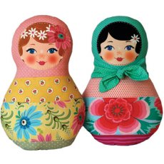 Ooshka Babushka Blonde Hair Blue Eyes Pattern Kit
