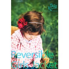 Bettsy Kingston Reversible Girls Jacket The Bettsy Kingston Reversible Girls Jacket has a peter pan collar long sleeves and a relaxed swing coat fit . Please Click the image for more information.
