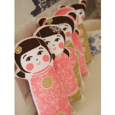 Kristen Doran Kokeshi Doll Panel Pink Kristen Dorans beautiful and sophisticated limited edition kokeshi doll design is hand screen printed in Sydney Australia on Organic GOTS certified 100 cottonKoke. Please Click the image for more information.