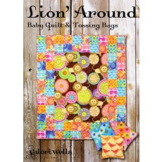 Valori Wells Lion Around Sewing Card