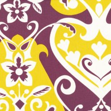 Innocent Crush Queen of Hearts Plum Remnant Printed on a beautiful medium weight fabric Innocent Crush by Anna Maria Horner is a perfect choice for home decorating but also a lovely structured cloth for fashion and accessories. Please Click the image for more information.