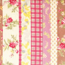Floral Stripe Corduroy Dusty Pink & Taupe Gorgeous floral stripe light weight corduroy Mix and match with other coordinating fabrics within this amazing collection from Japan to make fabulous pinnies skirts jackets cushions quilts and bean bags . Please Click the image for more information.