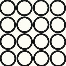 Metro Living Hoops Black on White Fabulous contemporary large scale hoop spot A lovely choice for light weight decorating projects Please Click the image for more information.