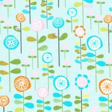 Happier Garden Blue Remnant Happier is an adorable childrens collection suitable for nursery and bedroom decor and accessories Please Click the image for more information.