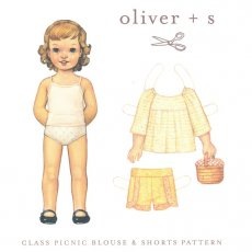 oliver + s Classic Picnic Blouse & Shorts 5 - 12 years Are you ready for the picnic The Oliver  s Classic Picnic Blouse  Shorts Comfortable and cute elasticwaist childrens shorts including contrast trim mockwrap styling and a faux fly The raglansl. Please Click the image for more information.