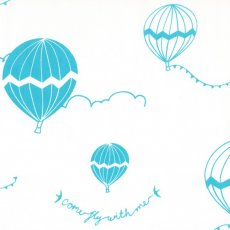 Hot Air Lagoon An adorable hot air balloon design by Australian textile designer Tara Davy Hand screen printed on a lovely soft wide width 100 cottonA f. Please Click the image for more information.