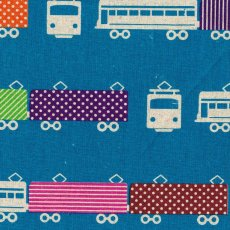 Echino Train Blue Echino Trains are part of the latest fabulous echino nico fabric collection and are certain to be popular with both the children and adults. Please Click the image for more information.