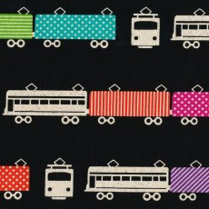Echino Train Black Echino Trains are part of the latest fabulous echino nico fabric collection and are certain to be popular with both the children and adults. Please Click the image for more information.