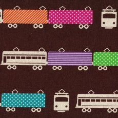 Echino Train Chocolate Echino Trains are part of the latest fabulous echino nico fabric collection and are certain to be popular with both the children and adults. Please Click the image for more information.