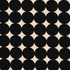 No 5 Interior Collection Dots Black on Natural Wide width dots suitable for homewares upholstery blinds and curtains This fabric design would also be striking made into our custom made cushions or lampshades. Please Click the image for more information.