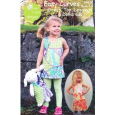 Olive Ann Easy Curves Dress, Top & Leggings Indulge your creative streak with this fat quarter friendly and suprisingly easy to make dress or top Y. Please Click the image for more information.