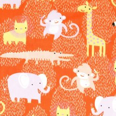 Safari Sweet Organic Animals Orange Safari Sweet is an adorable organic collection of fabrics for the sweet little people in your life Please Click the image for more information.
