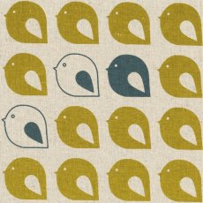 Kristen Doran Mollybirds Mustard & Grey Kristen Dorans limited edition mollybirds is hand screen printed in Sydney Australia on a beautiful natural linencotton baseclothSol. Please Click the image for more information.