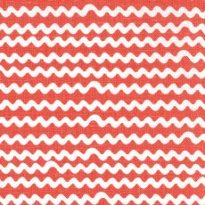 Mello Coral Red Wide Width Mello fabric designed by Swedish designers Emma von Brmssen  Linda BrinkA contemporary ripple stripe printed on a beautiful cottonlinen blend Looks st. Please Click the image for more information.