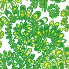 Dagmar Green Wide Width Dagmar fabric designed by Swedish designer Lidia BlomgrenA beautiful contemporary paisley design printed on a beautiful textured cottonlinen blend Dagmar. Please Click the image for more information.