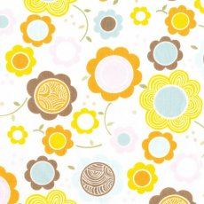 Alexander Henry Kitty Garden Gerbers Apricot Kitty Garden Gerber by Alexander Henry is a sweet floral fabric for the little girls in your life This design would be gorgeous in a little girls nursery or bedroom made into linen cushions or light curtains or blinds Te. Please Click the image for more information.