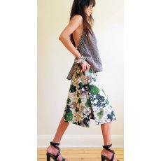 The Makers Journal Lickety-Split Skirt Palyful and flirty a skirt for girls on the go A simple pullon skirt with overlapping side splits which go all the way up to the waist Push it. Please Click the image for more information.