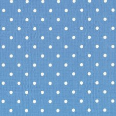 Kei Sugar Dew Polka Dot French Blue Remnant A beautifully soft reversible spot for all your creative projects White spot on blue on both sides Please Click the image for more information.