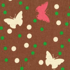 Butterfly Confetti Spot Brown