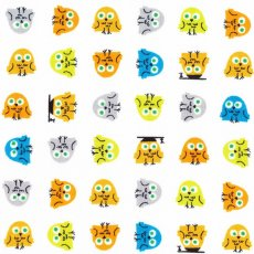 Happy Drawing Owls Organic Cotton Happy Drawing by Ed Emberley for Cloud 9 Fabrics is a unique ecofriendly collection of childrens fabric designs printed on 100 certified organic cotton. Please Click the image for more information.