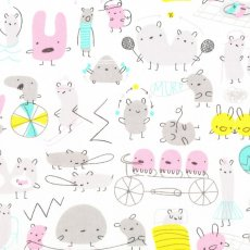 Monsterz Mash Pink Organic Cotton Monsterz by Michle Brummer Everett for Cloud 9 Fabrics is the sweetest childrens fabric collection filled with likeable monsters  critters The. Please Click the image for more information.